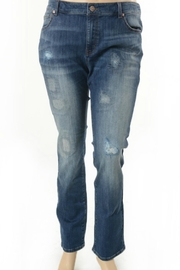 Nine Planet Curvy Distressed Jeans - Product Mini Image