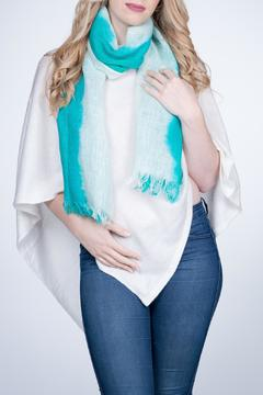 Shoptiques Product: Linen Scarf Green