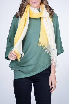 Shoptiques Product: Linen Scarf Yellow