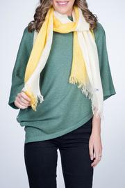 Nine Yaks Linen Scarf Yellow - Product Mini Image