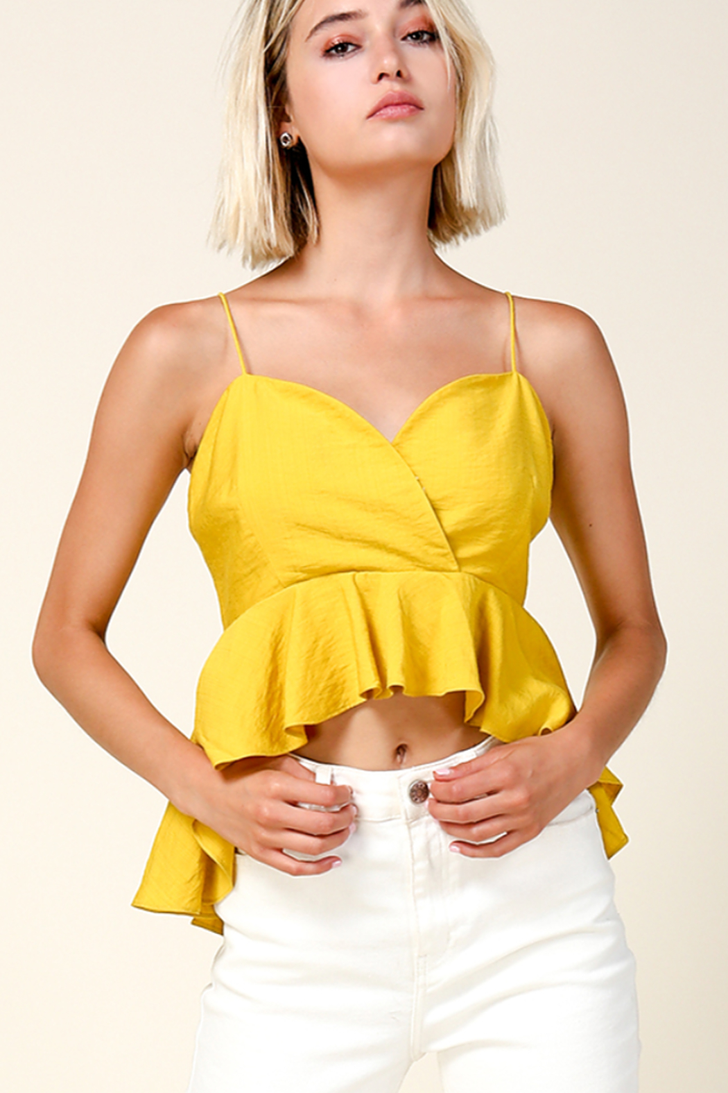 Line & Dot Ninette Top - Front Cropped Image
