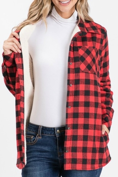 Ninexis Heather Plaid Jacket - Product List Image