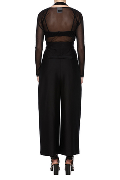 Shoptiques Product: Black High Waisted Trousers