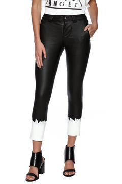 Shoptiques Product: Black Painted Pant