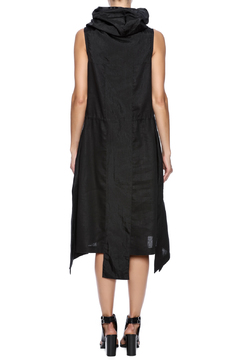 NINObrand Hooded Midi Dress - Alternate List Image