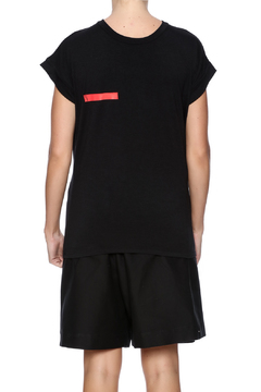 NINObrand Oversized Drape Tee - Alternate List Image