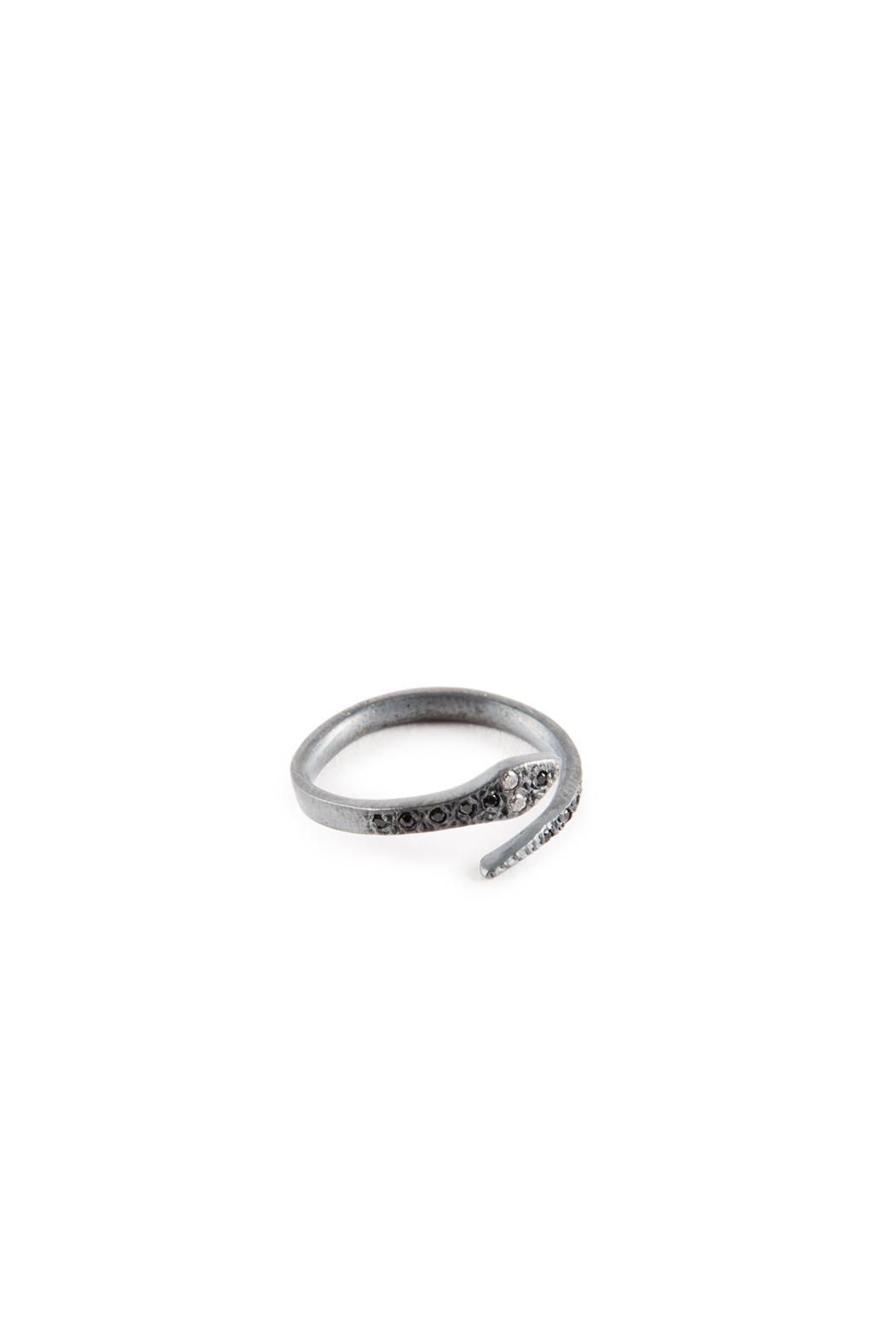 Niqua Jewelry Snake Ring - Front Cropped Image