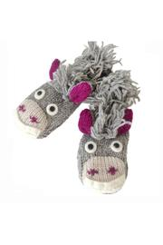 Nirvana Designs Donkey Mittens Kid - Product Mini Image