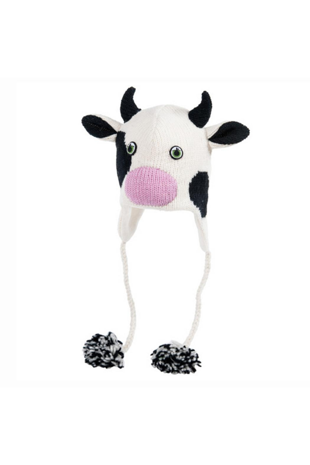 c6a939f2576 Nirvana Designs Moo Cow Beanie from Alexandria by Bishop Boutique ...