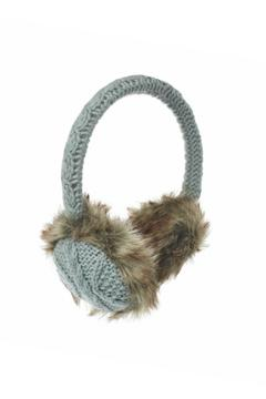Nirvanna Cable Knit Earmuffs - Alternate List Image