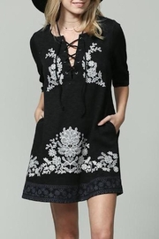 By Together Nisha Embroidered Dress - Product Mini Image