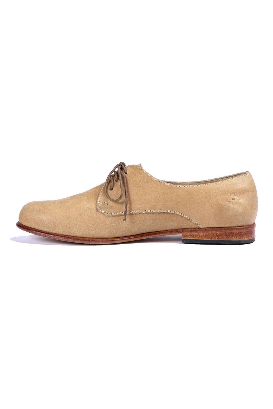 Nisolo Almond Oliver Oxford Shoes - Main Image