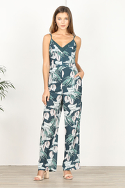 Adelyn Rae Nissa Tropical Jumpsuit - Other