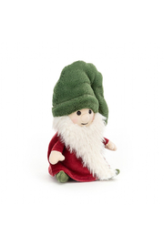 Jellycat  NISSE GNOME NOEL (GREEN HAT) - Front cropped
