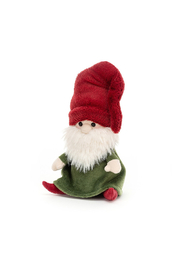 Jellycat  NISSE GNOME RUDY (RED HAT) - Front cropped