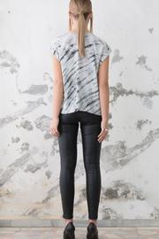 nisse Silk Wash Top - Front full body