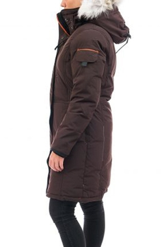 Outdoor Survival Canada Nisto Knee-Length Coat - Alternate List Image