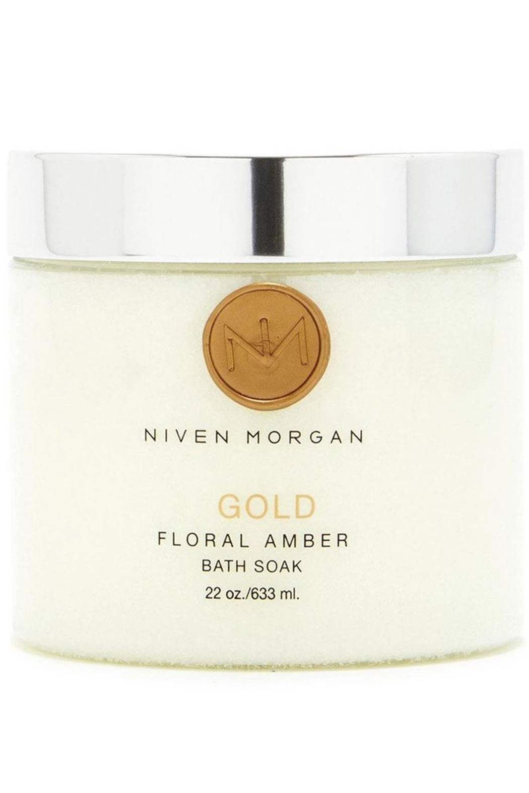 Niven Morgan Gold Bath Soak - Front Cropped Image