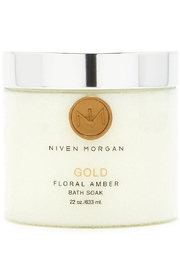 Niven Morgan Gold Bath Soak - Front cropped