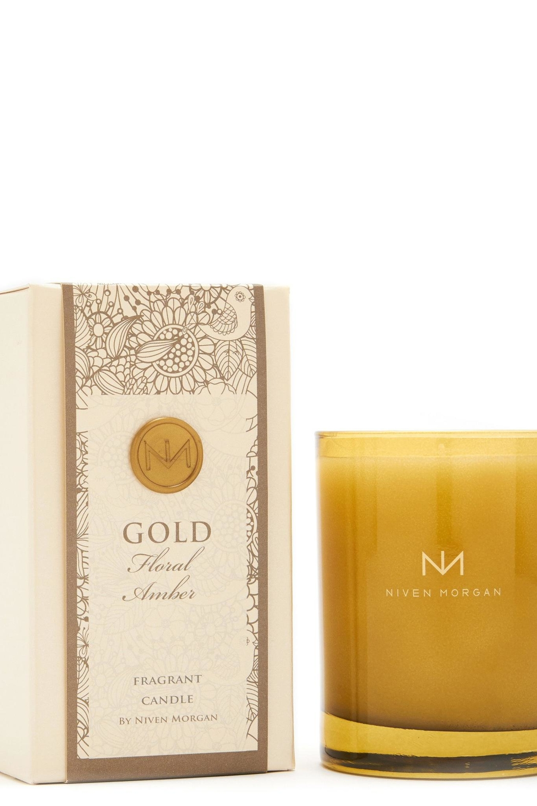 Niven Morgan Gold Fragrant Candle - Main Image