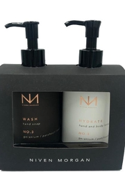 Niven Morgan Hand Soap Plus Hand And Body Lotion - Front cropped