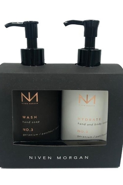 Niven Morgan Hand Soap Plus Hand And Body Lotion - Alternate List Image