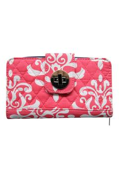 Shoptiques Product: Coral Quilted Wallet