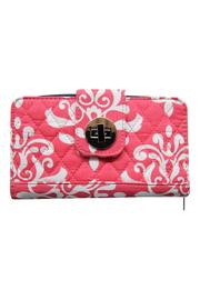 NNK Coral Quilted Wallet - Product Mini Image
