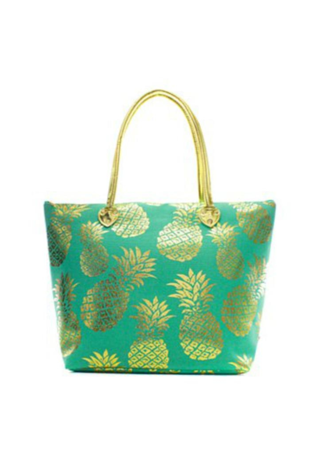 NNK Pineapple Tote Bag - Front Cropped Image