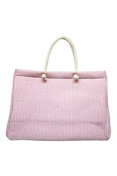 Shoptiques Product: Pink Seersucker Tote