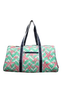 Shoptiques Product: Quilted Starfish Duffel