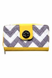 NNK Yellow Quilted Wallet - Product Mini Image