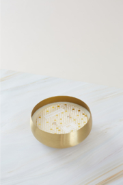 Candlefish No. 52 Small Gold Bowl Candle - Product Mini Image