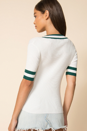 MinkPink No Limit Knit Top - Front full body