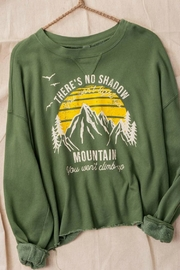 Trend Notes  NO MOUNTIAN YOU CAN'T CLIMB - Front cropped