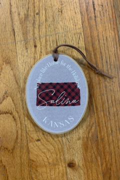 Clairmont & Co No Place like Home for the Holidays Ornament - Alternate List Image