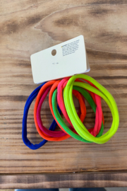 Ellas  No pull hair twistie Neon - Product Mini Image