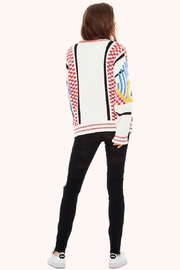 TAGS No! Sweater Knit-Patchwork - Front full body