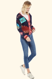 TAGS No! Sweater- Mars-Landing - Front full body