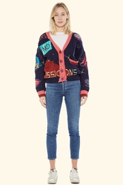 TAGS No! Sweater- Mars-Landing - Front cropped