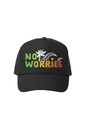 Grom Squad No Worries Trucker Hat - Product Mini Image