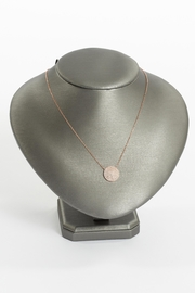 No Label  Circle Shape Necklace - Product Mini Image