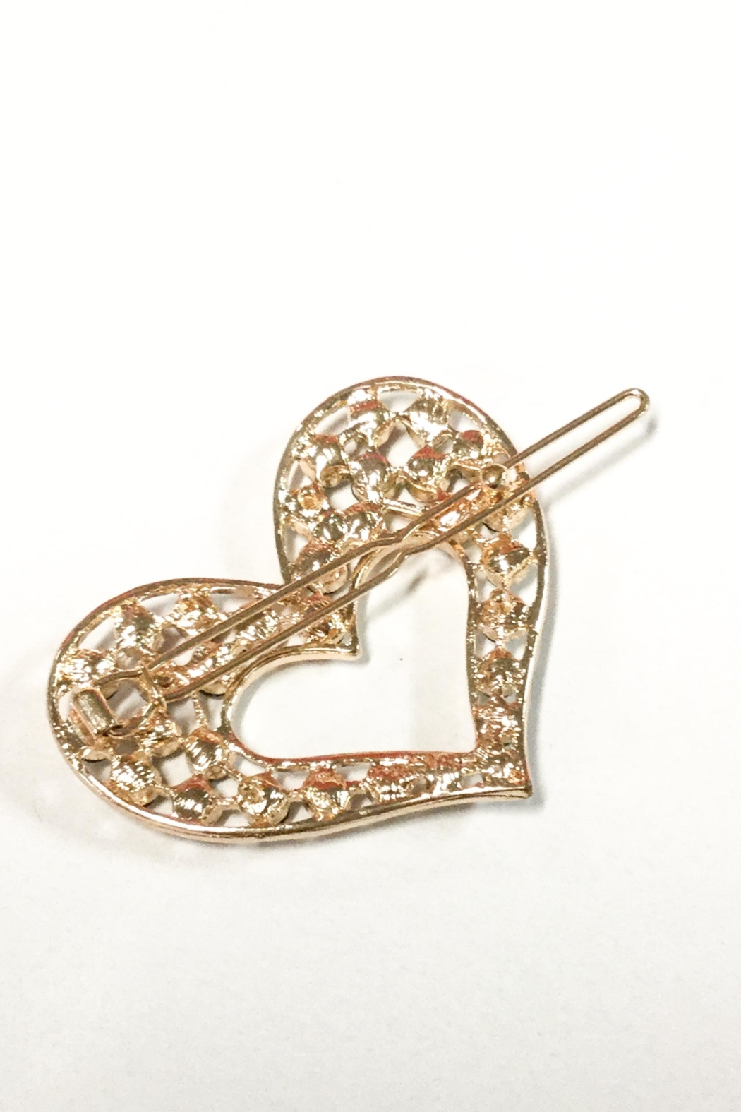 No Label  Heart Hair Accessory - Front Full Image