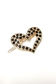 No Label  Heart Hair Accessory - Back cropped