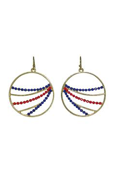 No Label  Red Blue Hoops - Product List Image