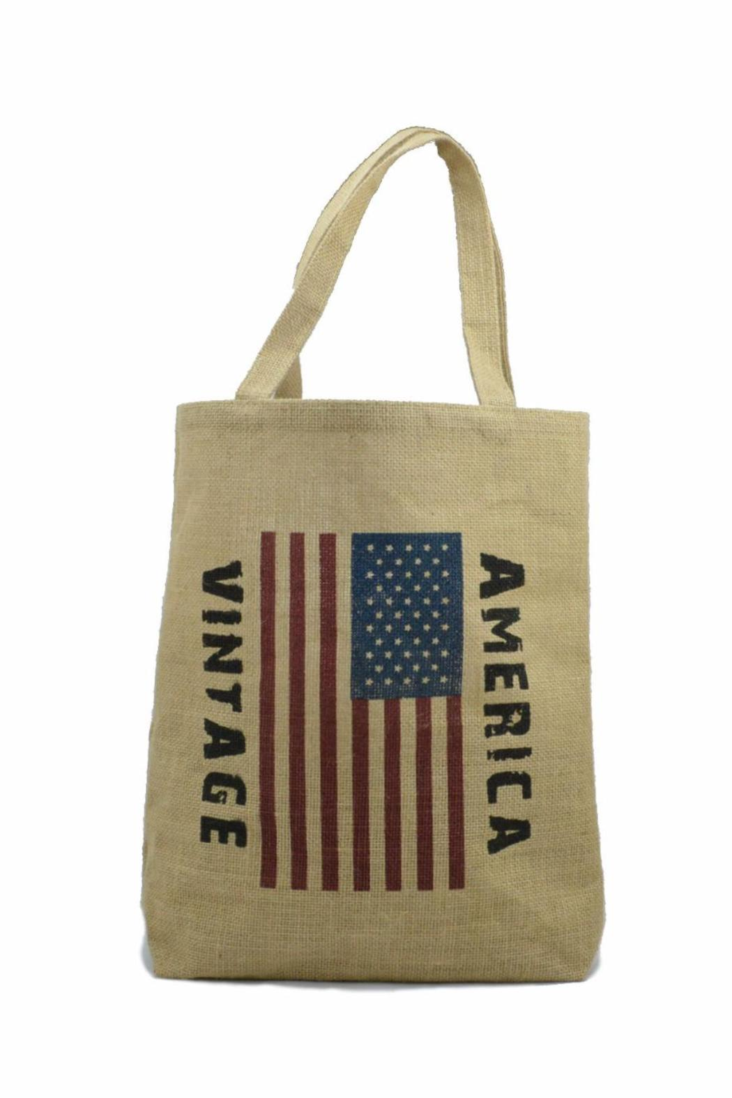 No Label  Usa Flag Tote - Front Cropped Image