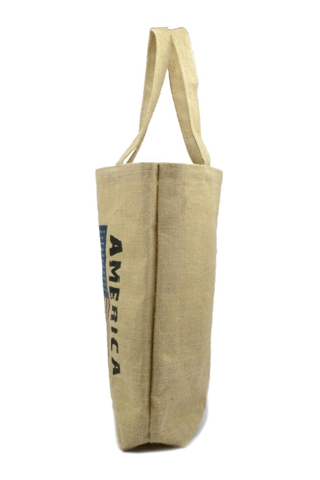 No Label  Usa Flag Tote - Front Full Image