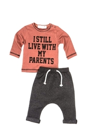 No Name 2p Boys Outfit - Front cropped
