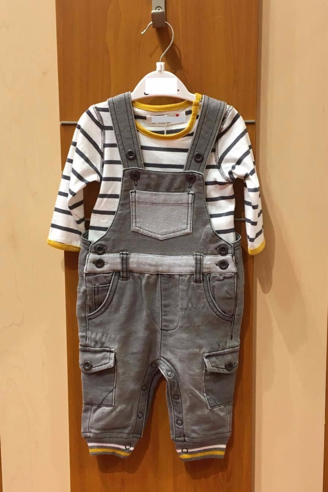 No Name Boy's 2p Outfit - Front Cropped Image