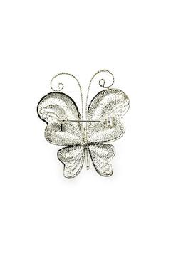 Shoptiques Product: Butterfly Silver Brooch